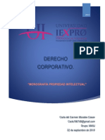 Monografia Derecho Corporativo