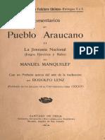 Manquilef- Comentarios del pueblo araucano