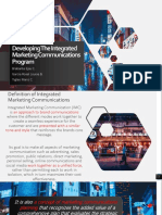 Developing the Integrated Marketing Communications Program