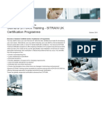 Siemens Sit Rain Uk Certification Programme
