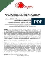 4.1- Antena ADM-010 Para La TDT