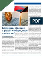 Religiosidade e Laicidade