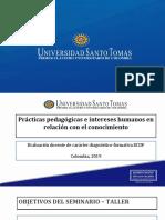 T3- PPT Intereses de conocimiento, taller, matriz, reflexión de prácticas