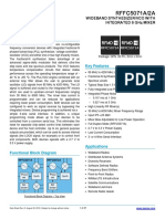 RFFC5071A Data Sheet