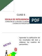 Escala de Inteligencia Wisc IV. Corrección de La Prueba y Elaboración de Cuadros