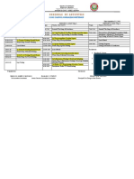 District Training Matrix in Journalism Copy