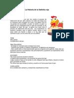 Analisis La Gallinita Roja