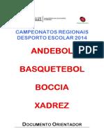 microsoft word - campeonato regional vora 2014 - documento orientador
