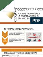 Puertas y Barreras a La Cooperación Terminado