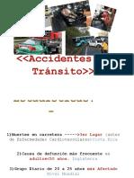 ACCIDENTES DE TRANASITO