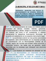 ORDENANZA MUNICIPAL N°003-2016-MDT-kiosko