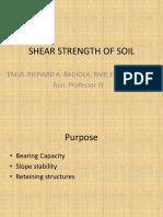 Shear Strength of Soil.shear Testpptx