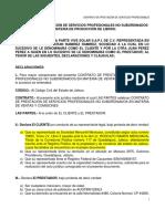 Contrato de Prestacion de Servicios 2019