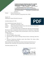 Surat Permohonan Sarpras MI Fathul Ulum Kalicilik 2019