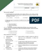 Examen Ing. Sistemas