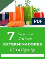 Sucos Detox