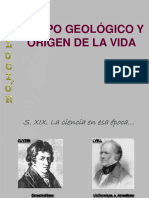 Tiempo Geologico y Origen de La Vida
