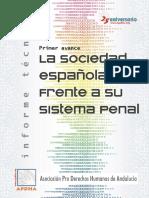 Estudio sociedad española y sistema penal