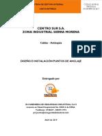 Certificación de anclajes