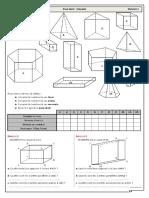 Chap 14 - Ex 1 - Etudes de Solides - CORRIGE