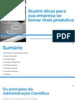 eBook Canal Do Serralheiro 4 Dicas Para Sua Empresa Se Tornar Mais Produtiva