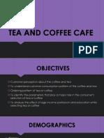 Tea coffee shop stats