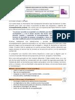 Curso de Acompañamiento Pastoral Diocesano 2019-20