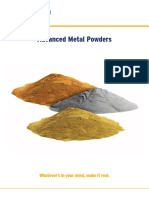 Cooksongold Advanced Metal Powders 2016