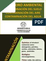 CLASE 10. Deterioro Ambiental - Contaminación de Los Recursos
