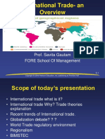 8. International Trade and Overview
