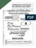 Bio_PrePS2020I -08 Función de Circulación y Respiración