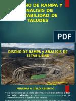 2. Diseño de Rampa y Analisis de Estabilidad de Taludes