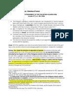 5. Springer v. Gov't of the Philippines