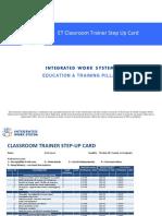Classroom Trainer