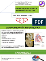 Cardiomiopatia Hipertrofica y Restrictiva