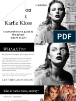 Reputation is About Karlie Kloss