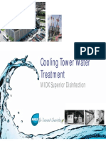 Cooling Tower Water Treatment MIOX Superior Disinfection