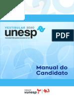 UNESP Manual Do Candidato Vestibular 2020
