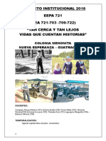 Proyecto Menonitas EEPA 721