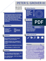 resume project good