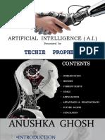 Artificial Inteligency - Presentation
