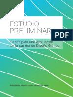 1 - Estudio Preliminar - Bases Para Una Evaluación Del Plan de Estudios de La Carrera de Diseño Gráfico