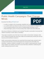 Public Health Campaigns That Change Minds - Blog