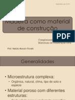 Madeira Como Material de Construo - Prof. Netlio Parte 1