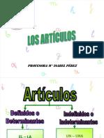 Sustantivo y Articulos