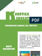 Presentación Robótica Educativa - CIED