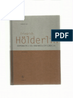 Friedrich Holderlin Hyperion Hiperion Ed