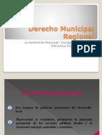 Derecho municipal regional
