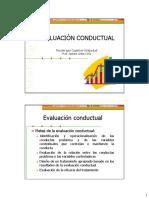Evaluación Conductual