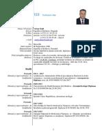 CV Europas Prof. Ceban Emil 2019